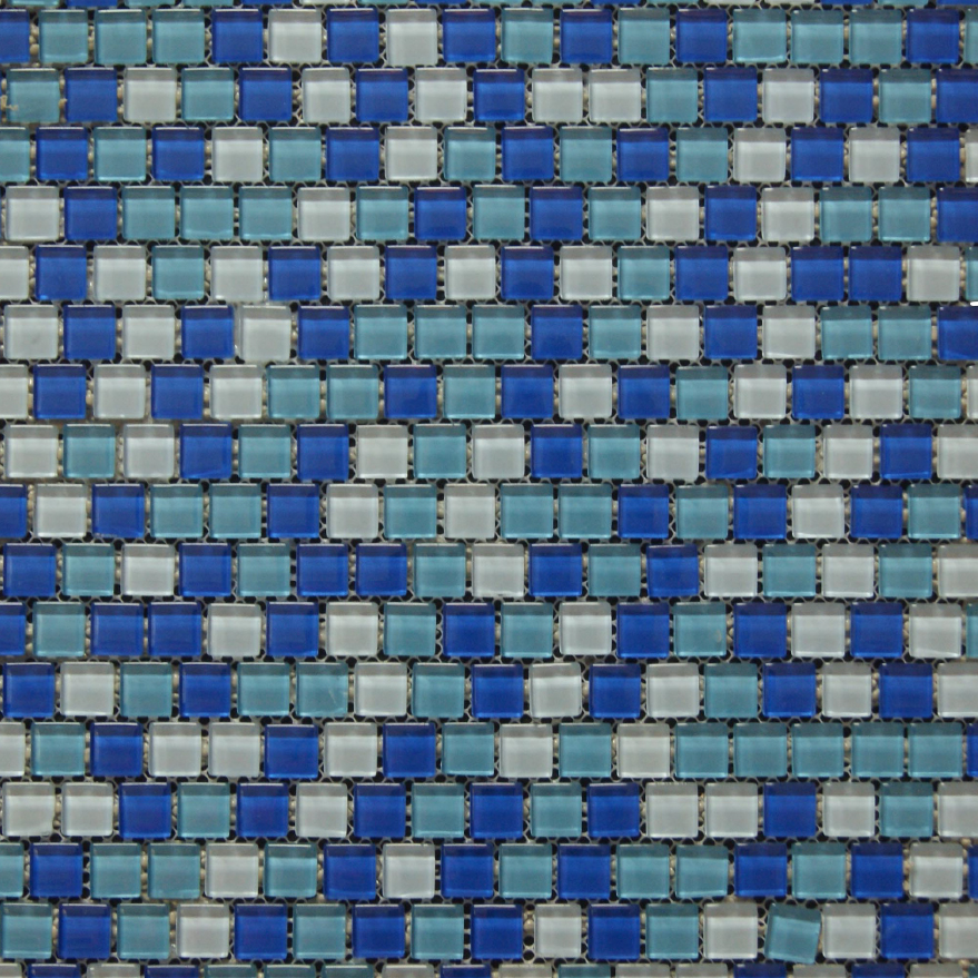 "Pool Jewelz - Lapis Sparkle Pool Tiles - 12"" x 12"""