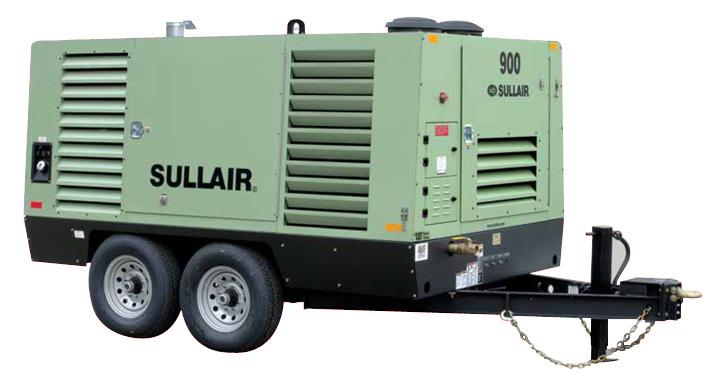 Industrial Air Compressor - 900 CFM, 120 psi SULLAIR