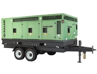 Industrial Air Compressor - 600 CFM Hi Pressure, 150 psi SULLAIR