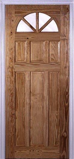 Galera 6 Panel - Wood Door