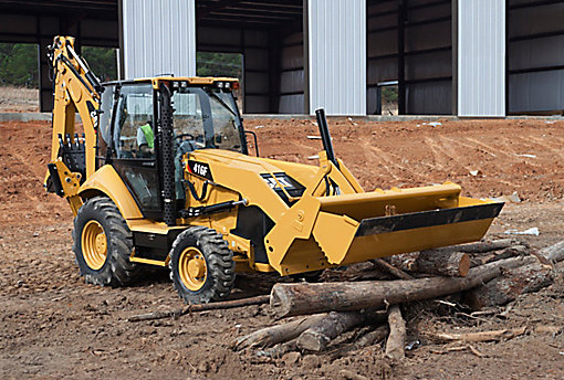 CAT Center-Pivot Backhoe - 416F