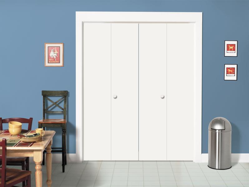 Jeld Wen Flush Wood Bi Fold Closet Doors Allied Home Center In