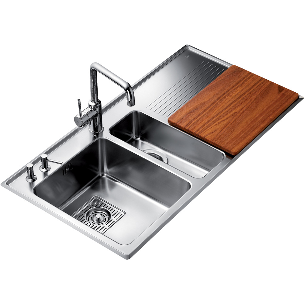 Teka Kitchen Sink Teka stainless steel kitchen sinks mega impe 80 cps plumbing related products teka stainless steel kitchen workwithnaturefo