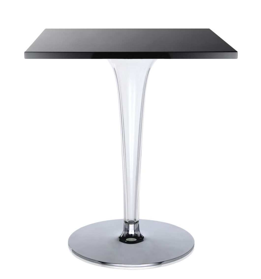 Kartell Furniture  TopTop  Bar Table, Square Top, Round