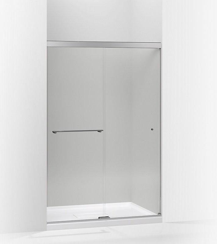 kohler levity series sliding shower door k706009lsh mirror mirror in trinidad the building source