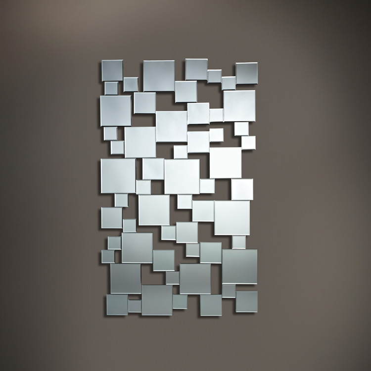 Contemporary Wall Mounted Mirror Gold Finish 841 Home Express Ltd In Trinidad The Building Source