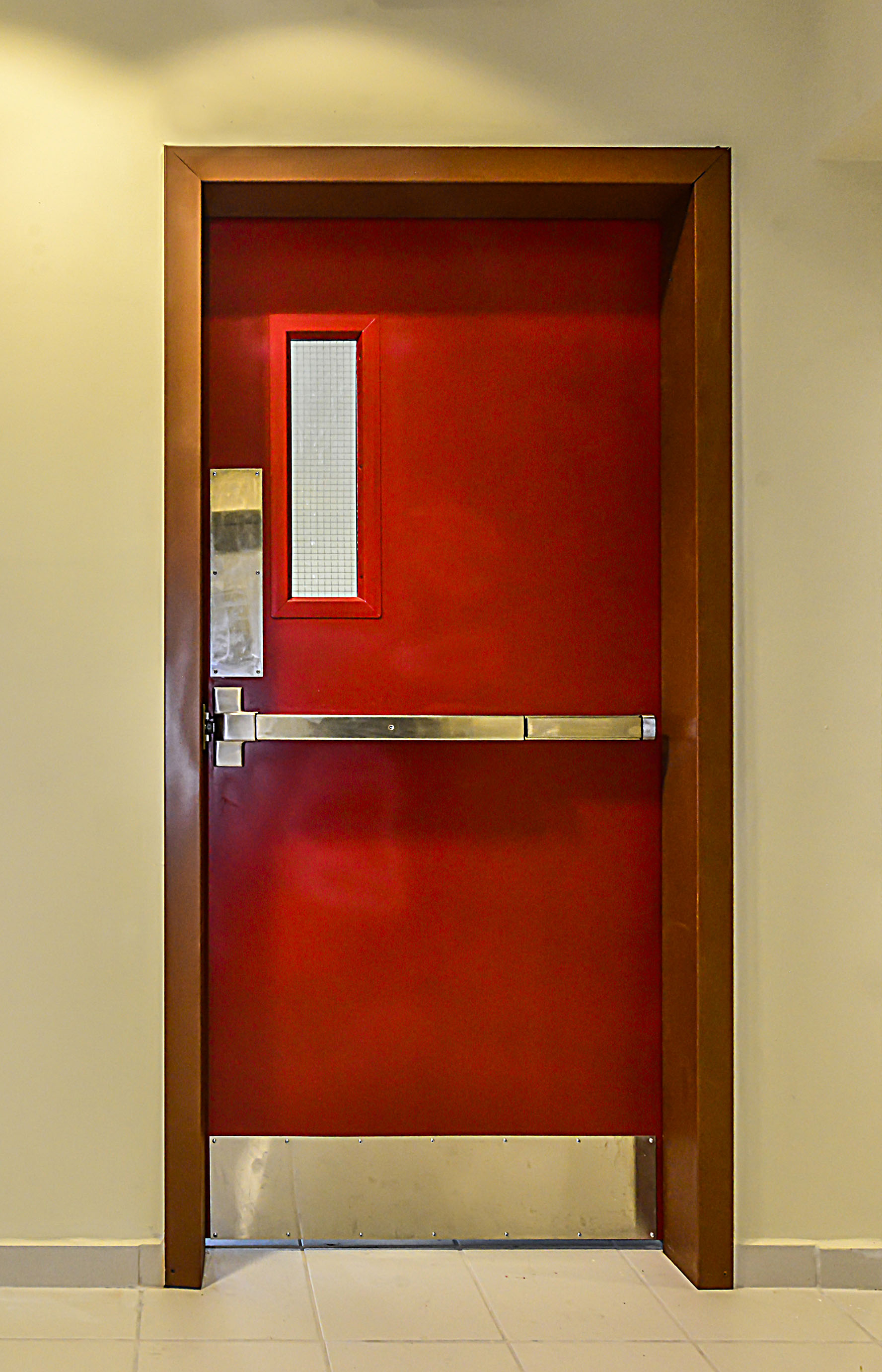 Unique Fire Door : Unique doors trinidad