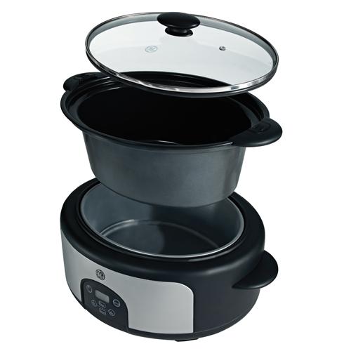 General Electric Range Hoods GE 3 6-Quart Slow Cooker - 169200 - Lewis Appliances in ...