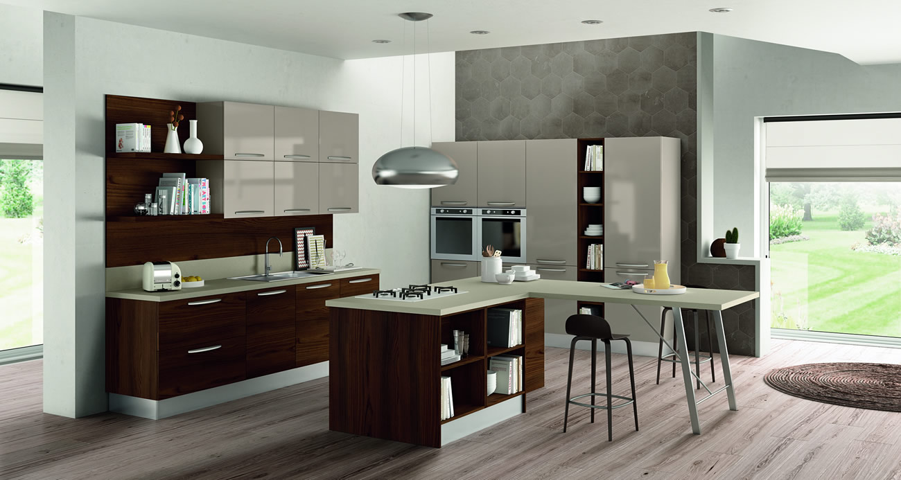 Kitchen cabinetry products cw interiors in trinidad for Kitchen designs trinidad