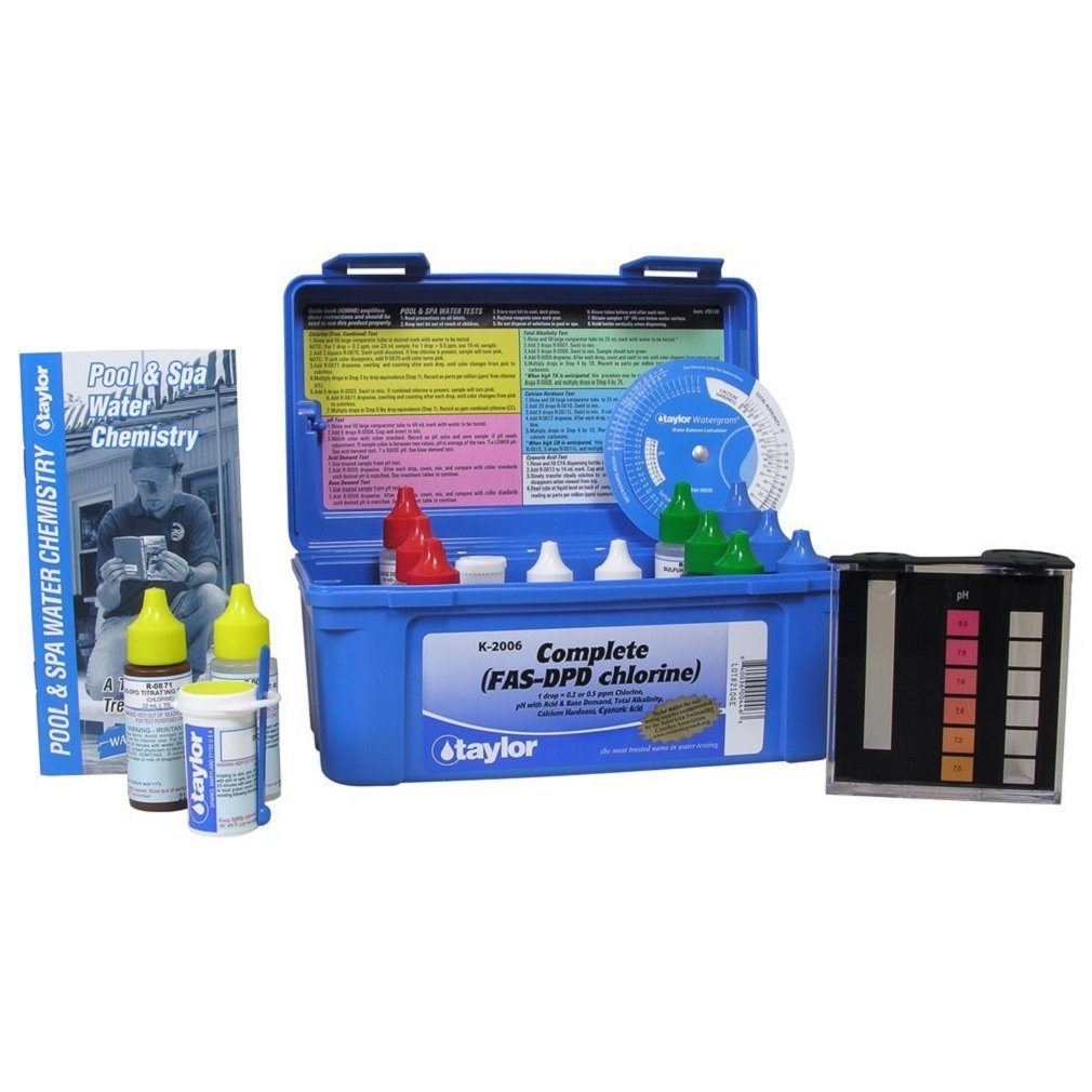 Taylor Technologies K2006 Pool Test Kit Veldon A