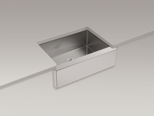 Kohler - Prolific Series, Under-Mount Single Bowl Kitchen Sink - K ...