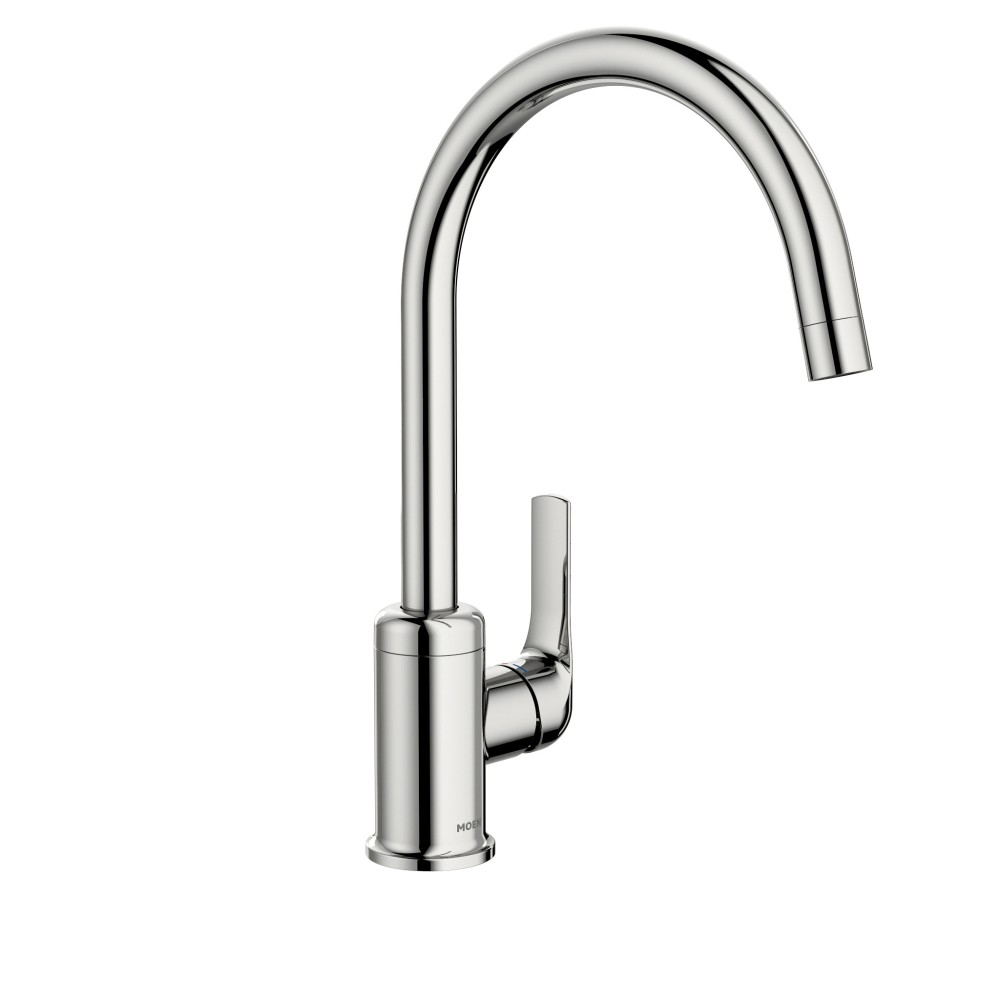 Moen Charmant Chrome One Handle High Arc Kitchen Faucet