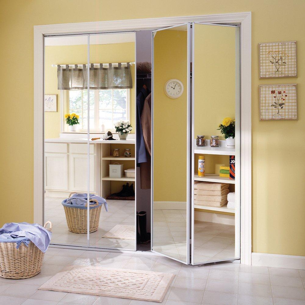 Mirror Bi Fold Closet Doors