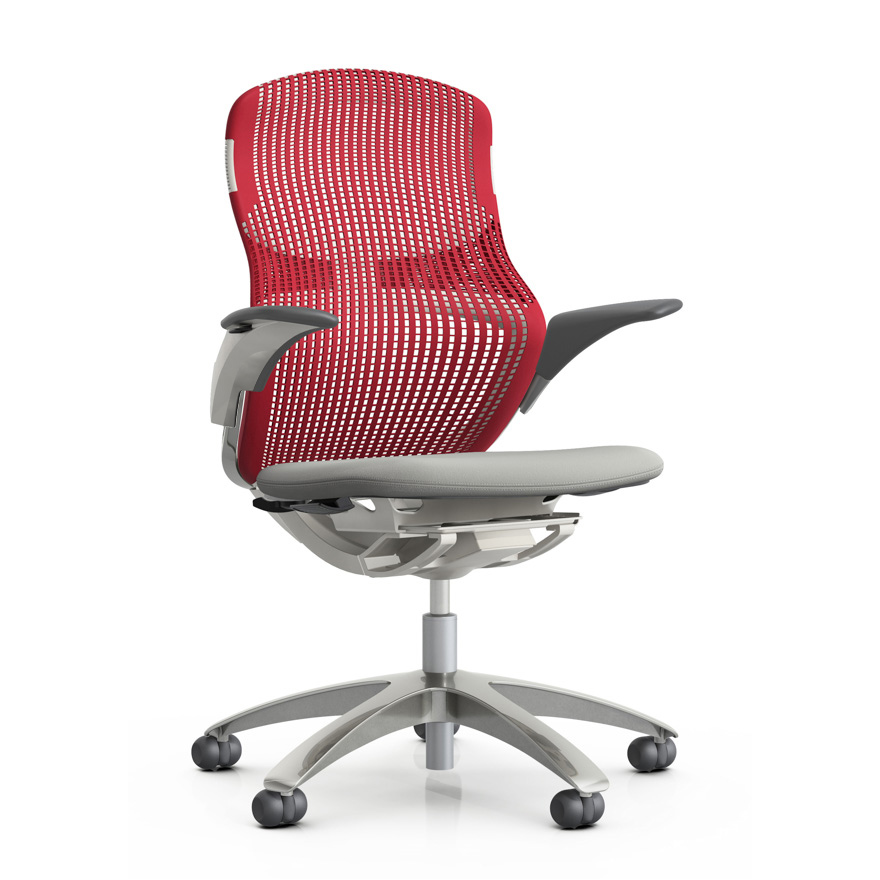 knoll furniture remix high back office chair boss in