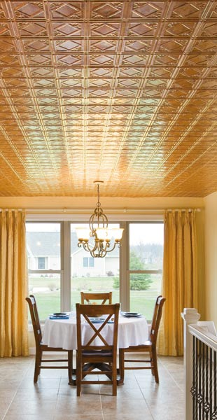 Fasade Polystyrene Ceiling Tiles Traditional Collection