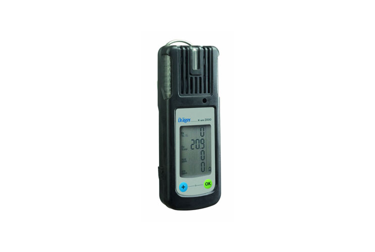 Drager Pac 5500 Single Gas Detector Area Monitor - Caribbean Safety