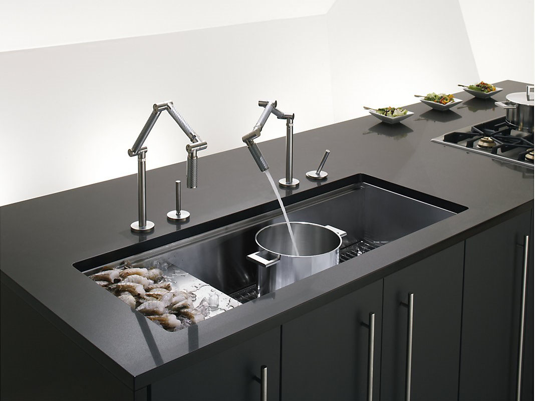 Http Www Thebuildingsource Com Project 4406 Kohler Kitchen Sink And Faucet 10