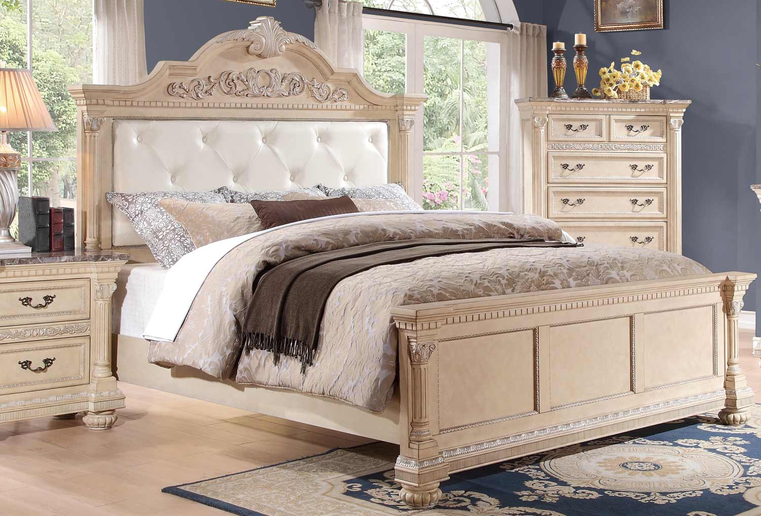 Homelegance Russian Hill Bedroom Collection - Antique ...